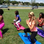 Yoga in Anacostia Park