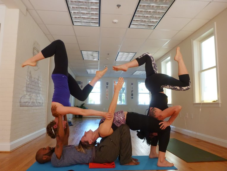 3 Secrets Of Acro Yoga With Yogi J Miles Anacostia Yogi