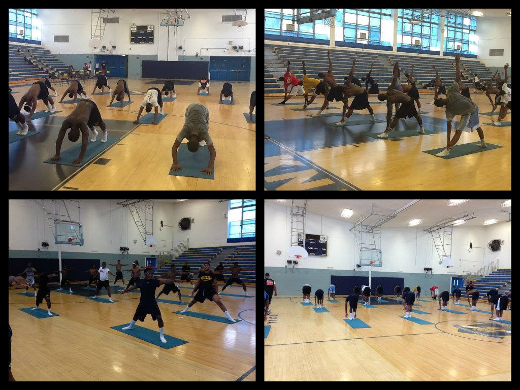 Ballou High School Yoga with Taheera