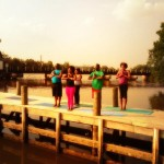 Yoga on the Anacostia River