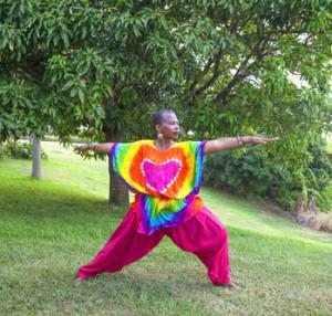 Jana Long specializes in Senior Yoga