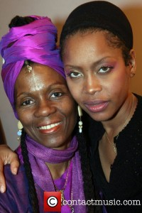Queen Afuah with Erykah Badu