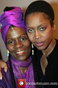 Queen Afuah with Erykah Badu