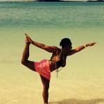 Finding balance on Paradise Island.