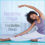 Try a simple stretch before bed!